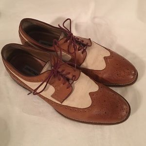 Johnston & Murphy Wing Tip Conard Mens Shoes 11 M